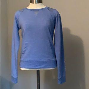 💕Aeropostale blue long sleeve active top